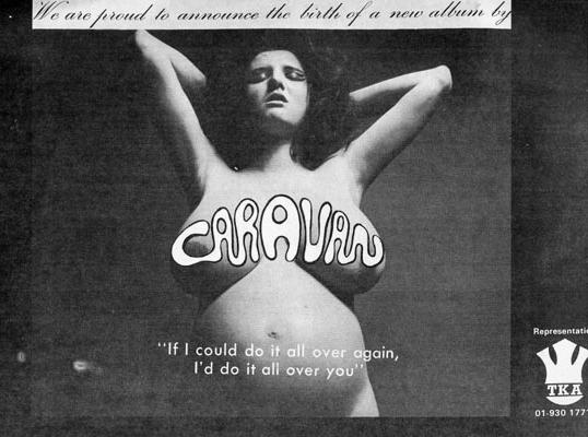 Caravan - If Could Do It All Over Again - Vintage Music Ad