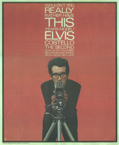 Elvis Costello -  This Year's Model - Vintage Music Ad