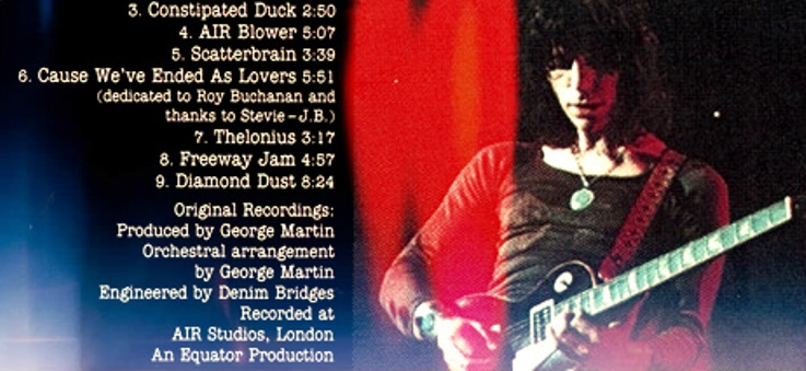 Jeff Beck Blow By Blow Produced by George Martin