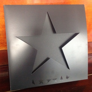 Bowie - Blackstar - Die-cut sleeve