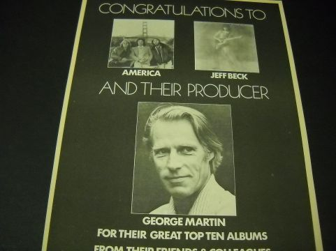 George Martin Jeff Beck Blow By Blow