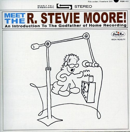 Meet The R. Stevie Moore mirrors Meet The Beatles