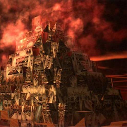 Burning The Hard City - Djam Karet (Cuneiform Records)
