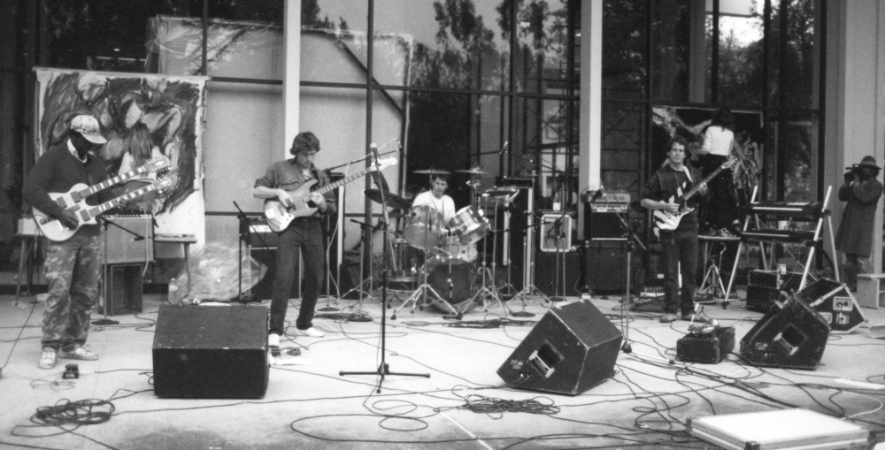 Djam Karet playing live in the early days