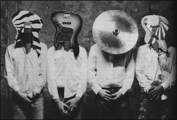 Djam Karet iconic band photo