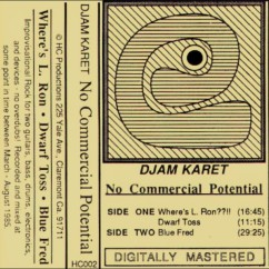 Djam Karet No Commercial Potential Cassette Tape 1985